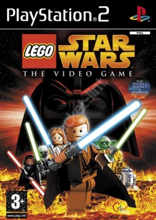 Lego Star Wars The Video Game - PS2