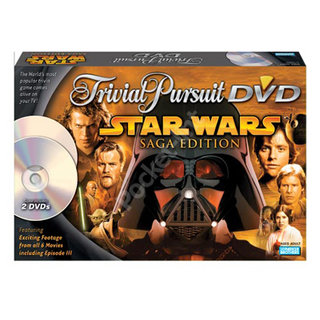 Trivial Pursuit DVD Game Star Wars Saga Edition