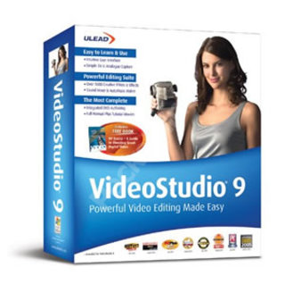 Ulead v9 Video Editing Software - PC