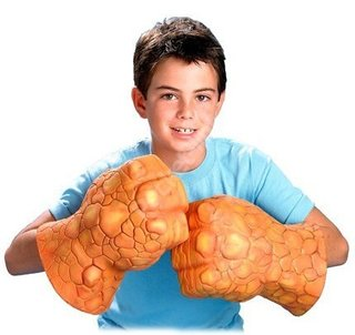 Fantastic Four Thing hands