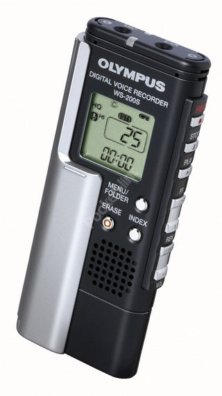 Olympus WS-200 digital voice recorder