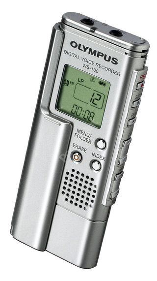 Olympus WS-100 voice recorder review