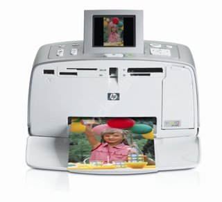 HP Photosmart 385 Compact Printer - EXCLUSIVE