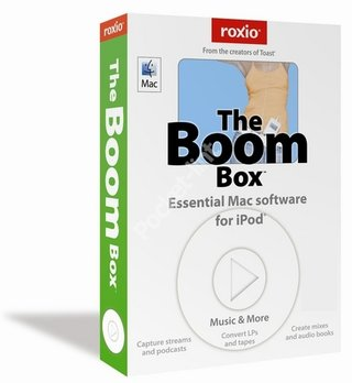 Roxio The Boom Box Music Software