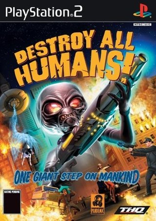 Destroy all Humans - PS2