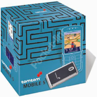 TomTom Mobile 5 GPS receiver