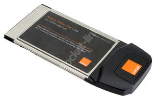 Orange 3G Mobile Office Card