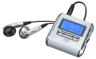 JVC XA-MP101W MP3 Player
