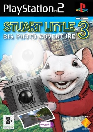 Stuart Little 3 - Big Photo Adventure - PS2
