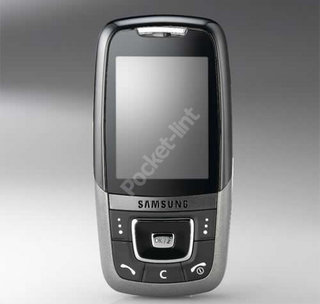 Samsung SGH-D600 mobile phone