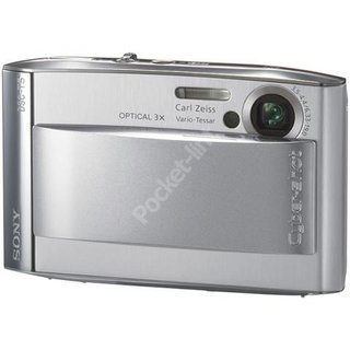 Sony Cyber-shot DSC T5 digital camera