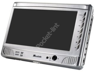 Mustek PL8A90 portable DVD player