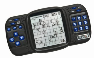 Sodoku handheld game console