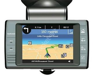 Via Michelin x930 GPS receiver