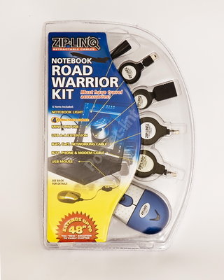Zip-linq Notebook Road Warrior Kit