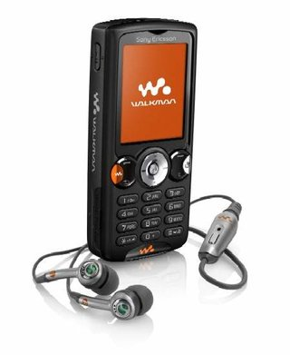 Sony Ericsson Walkman W810i  mobile phone