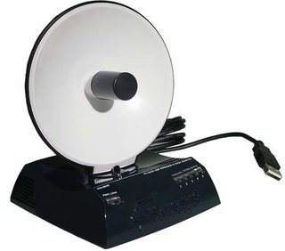 Hawking HWU8DD wireless adapter with built-in dish antenna