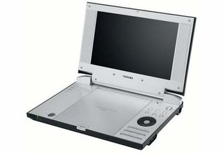 Toshiba SD-P2800 portable DVD player