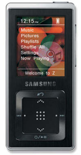 Samsung YP-Z5 MP3 player