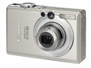 Canon Digital IXUS 60 digital camera