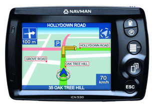 Navman iCN530 GPS receiver - EXCLUSIVE