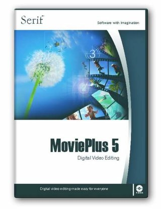 Serif MoviePlus 5 DVD authoring software