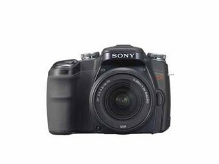 Sony Alpha 100 DSLR digital camera - FIRST LOOK