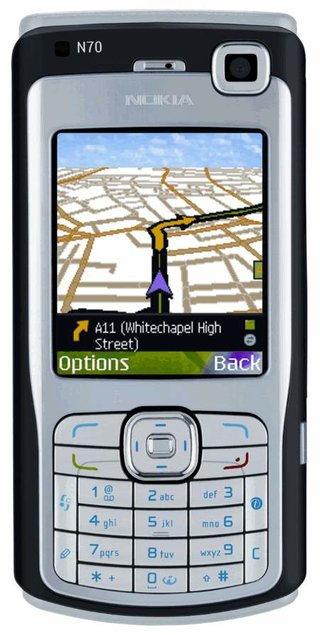 CoPilot Live 6 for Nokia N70