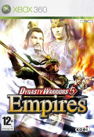 Dynasty Warriors 5 Empires - Xbox360