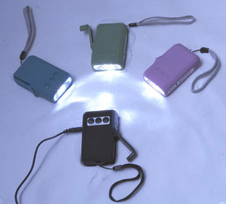 Eurohike wind up phone charger