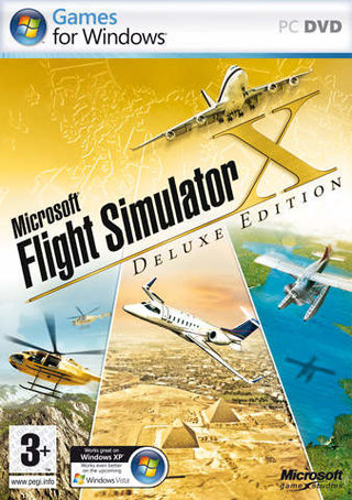 Flight Simulator X Deluxe Edition - PC