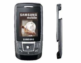 Samsung SGH-D900 mobile phone