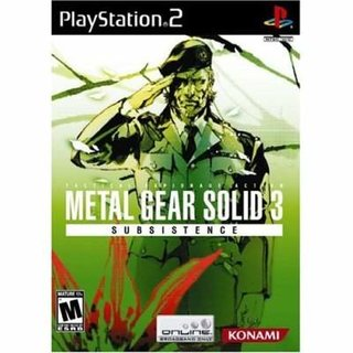 Metal Gear Solid 3: Subsistence - PS2