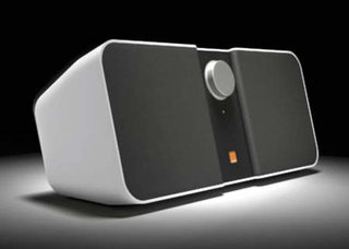 Orange Bluetooth Loudspeaker System