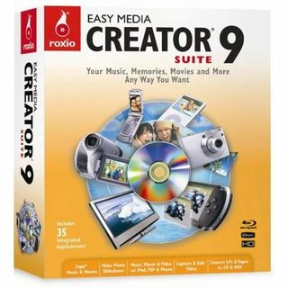Roxio Easy Media Creator 9 PC software