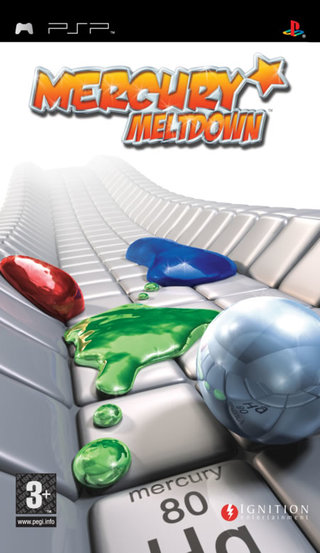 Mercury Meltdown - PSP