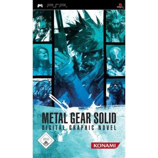 Metal Gear Solid: Digital Graphic Novel - PSP