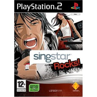 SingStar Rocks! - PS2