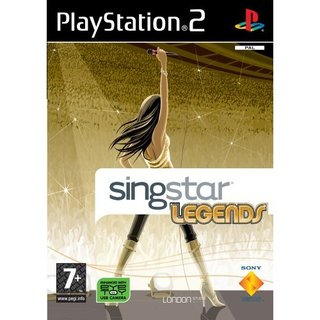 SingStar Legends – PS2