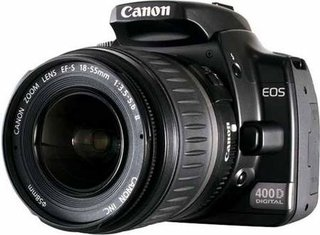 Canon EOS 400D DSLR camera