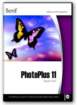 Serif PhotoPlus 11 PC software