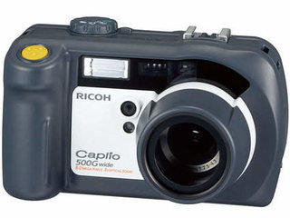 Ricoh Caplio 500G Wide digital camera