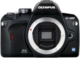 Olympus E400 DSLR digital camera