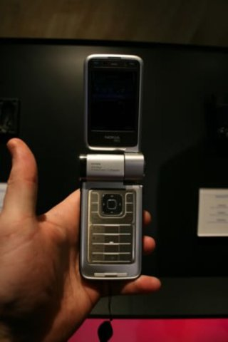Nokia N93i mobile phone - FIRST LOOK