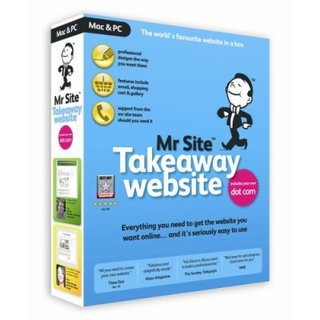 Mr Site Takeaway Website - PC