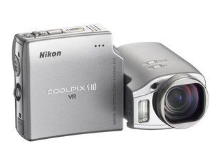 Nikon Coolpix S10 digital camera