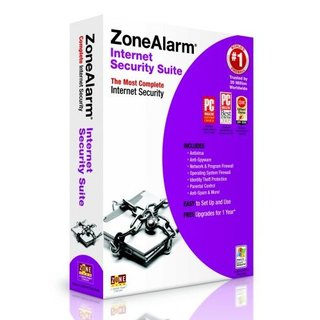 ZoneAlarm Internet Security Suite 2007