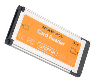 Griffin Express Card 34 Card Reader