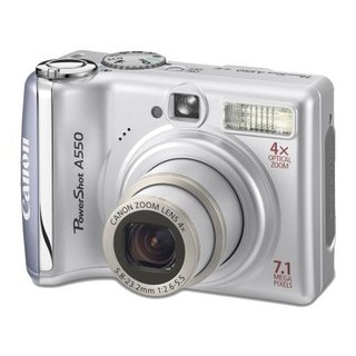 Canon PowerShot A550 digital camera