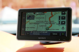 Sony NV-U92T GPS receiver - FIRST LOOK